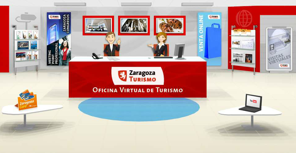 Aumentan las visitas a la web de zaragoza turismo blog for Catastro alicante oficina virtual